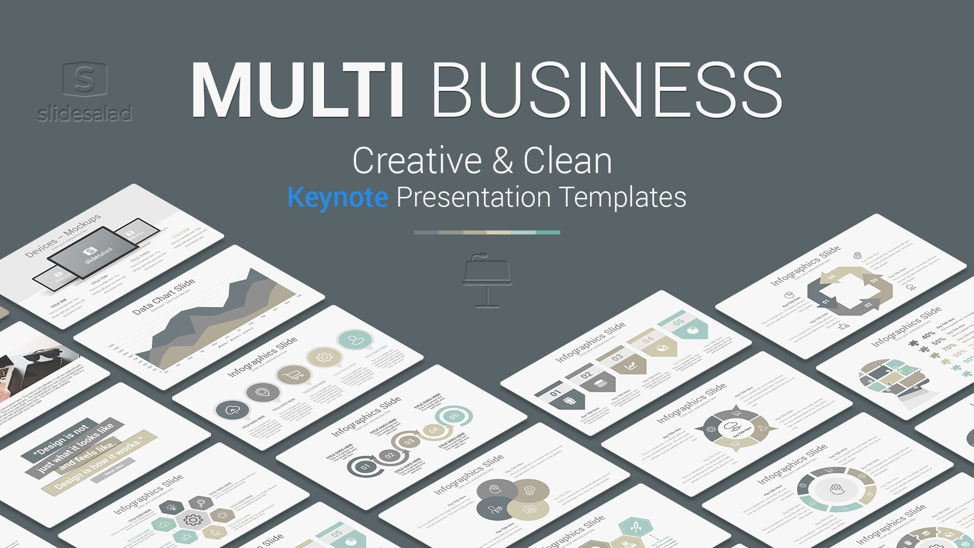 Multipurpose Business Presentation Template for Apple Keynote