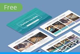 Free Business Portfolio Keynote Template For Designers