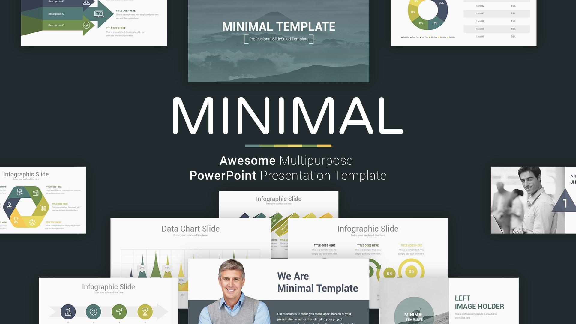Best Minimalist PowerPoint Templates of 2019 - SlideSalad