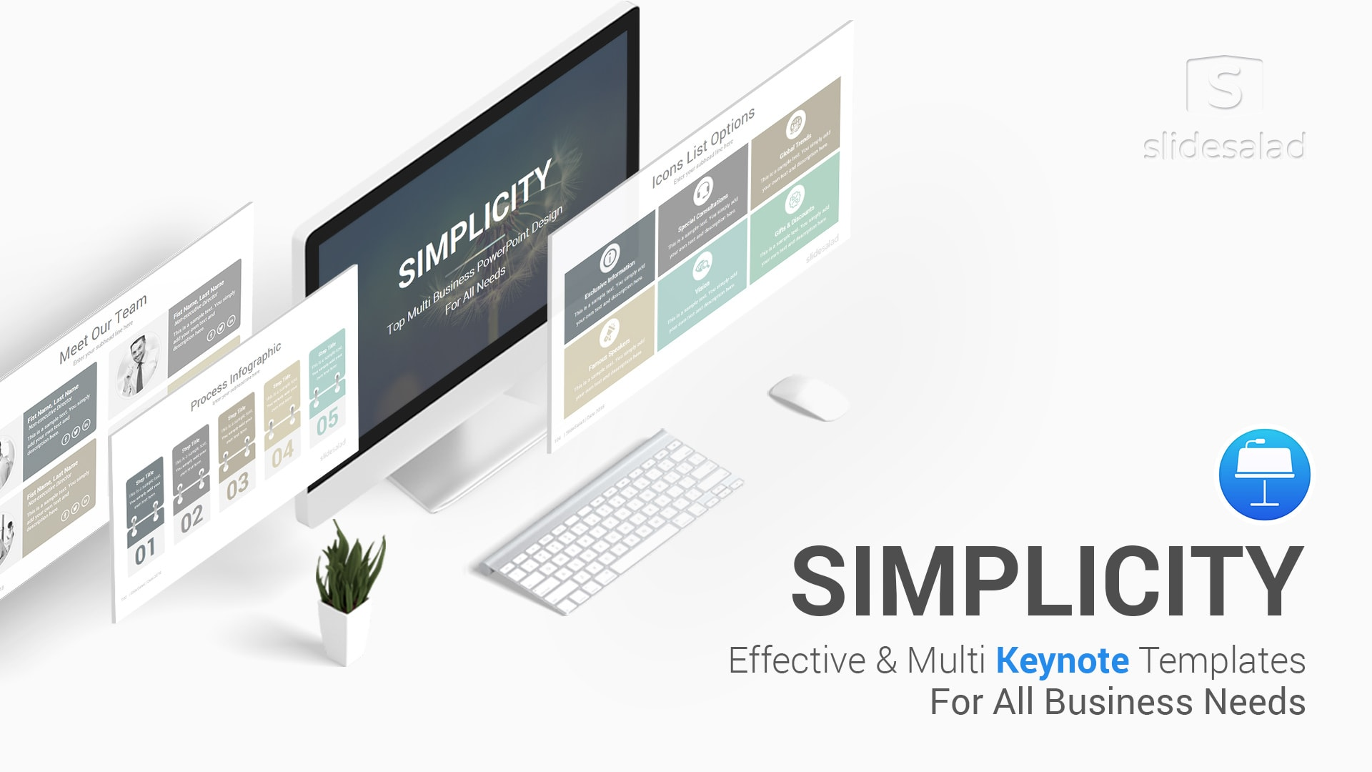 Simplicity Business Keynote Templates