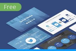 Social Media Free Keynote Template Slides
