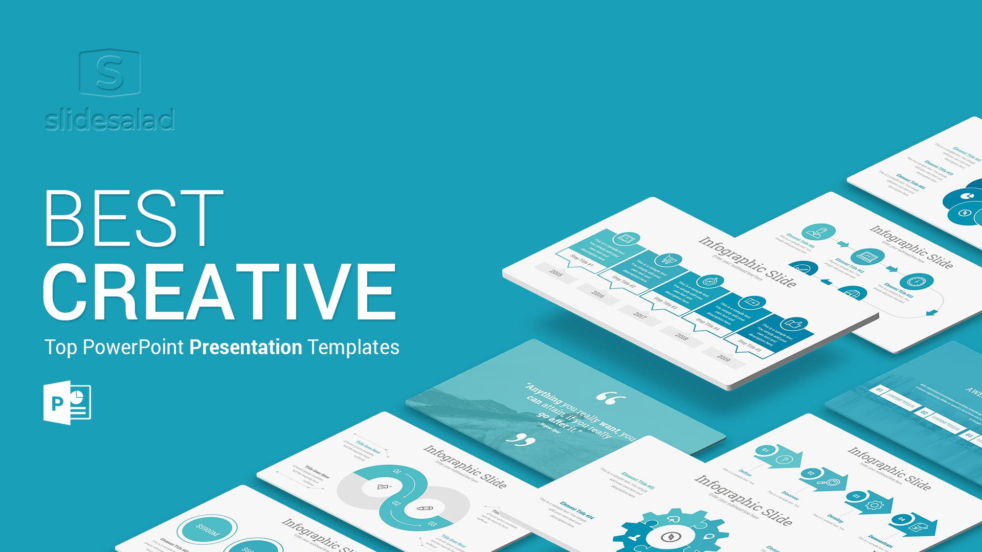Creative - A PowerPoint Presentation Template for Creative Businesses