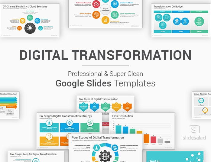 Digital Transformation Google Slides Template