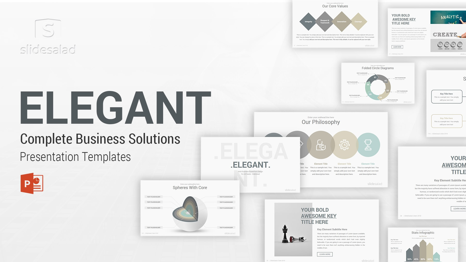 Best Clean Powerpoint Presentation Templates For 2020