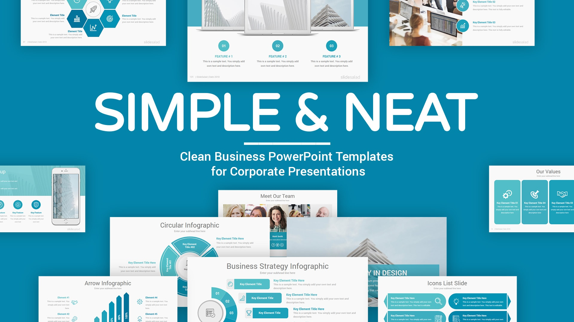 Simple PowerPoint Presentation Template