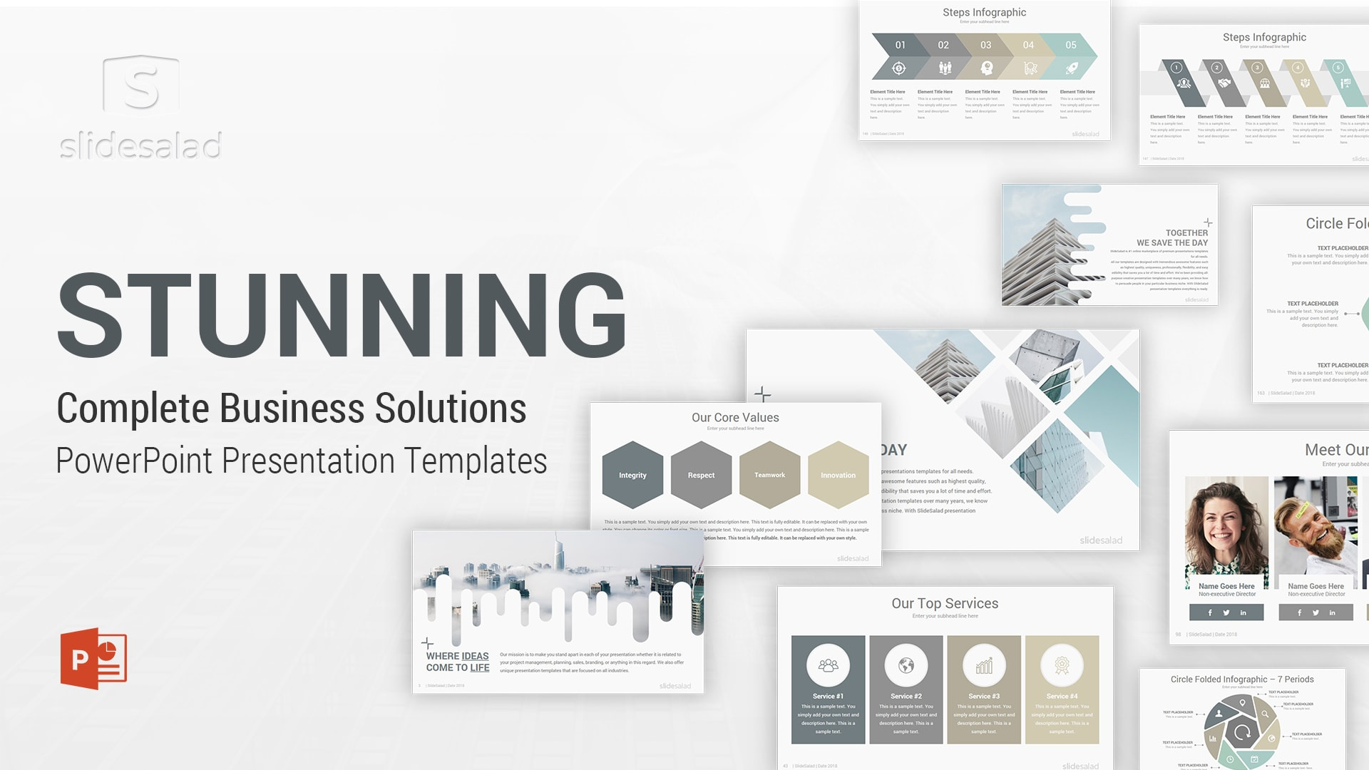 Best Powerpoint Templates Designs Of 2020 Slidesalad
