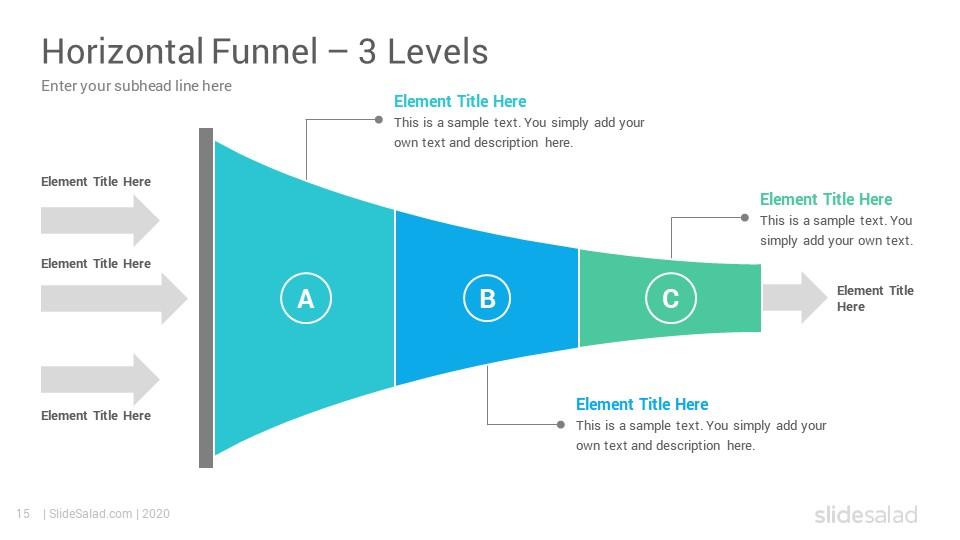 Best Funnels Infographics Powerpoint Template Diagrams Slidesalad