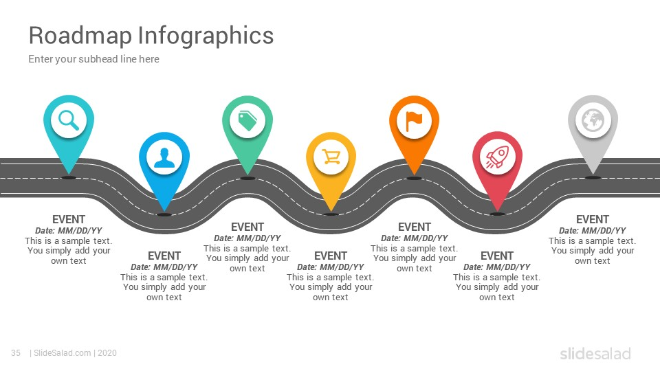 Best Roadmap Infographics Powerpoint Template Designs Slidesalad