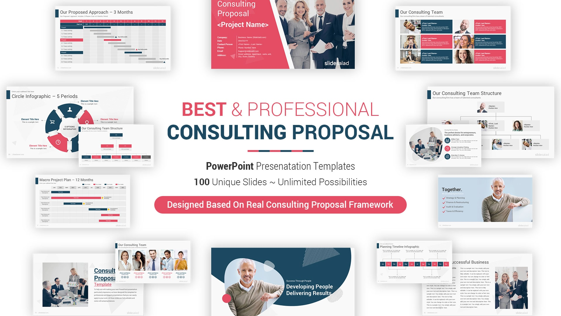 Powerpoint Proposal Template from www.slidesalad.com