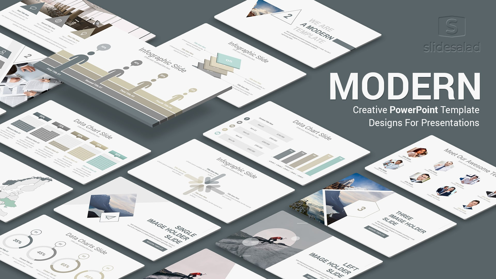 40 Minimalist Ppt Templates To Make Simple Modern Powerpoint Presentations In 2021 Slidesalad