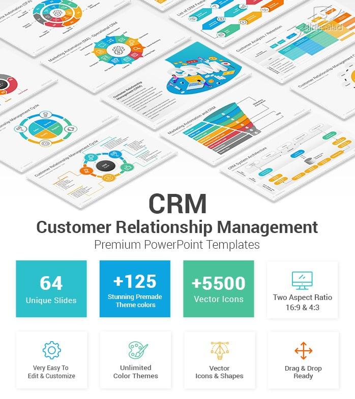 Customer Relationship Management Powerpoint Template Designs Slidesalad